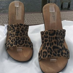 Sandals Confort Plus By Prediction Leopard Print